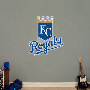 Kansas City Royals Logo Fathead Wall Decal